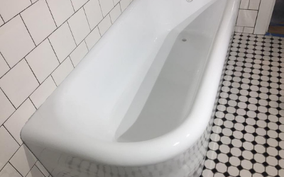 Restored Bathtub