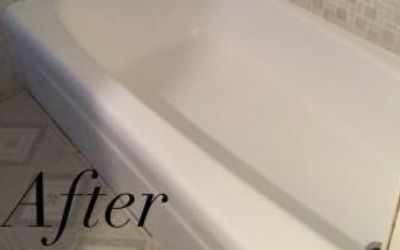 After - Picture of Tub Refinished